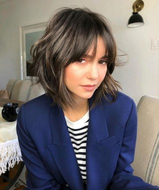21 Popular Bob Haircut With Bangs You Should Try 21