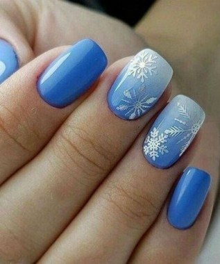 22 Cool Winter Aesthetics For 2020 Nail Art Trends 13