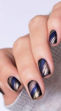 22 Cool Winter Aesthetics For 2020 Nail Art Trends 17