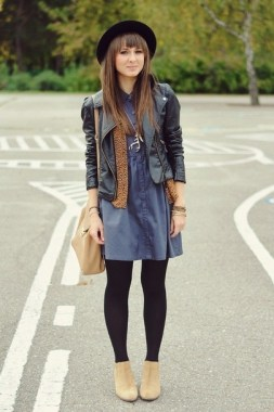23 How To Wear Denim For Casual Thanksgiving Outfits 07