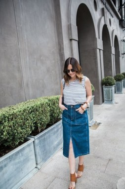 23 How To Wear Denim For Casual Thanksgiving Outfits 22