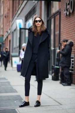 23 Ideas To Wear All Black Outfits For Winter 23