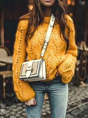 23 Top Crochet Fashion Share Their Go To Winter Styling Tips 16