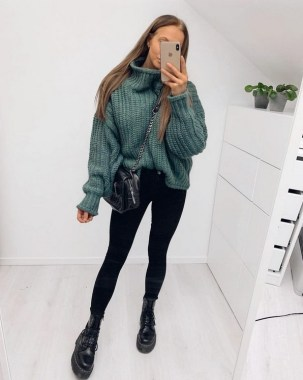 23 Top Crochet Fashion Share Their Go To Winter Styling Tips 19