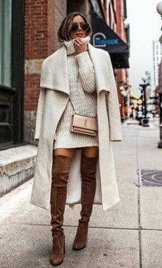 23 Top Crochet Fashion Share Their Go To Winter Styling Tips 24