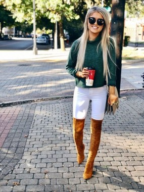 24 Casual Boots You Can Wear For Thanksgiving And Christmas Parties 04