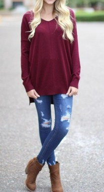 24 Fabulous Casual Outfit With Jean For Teen In Fall 03