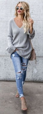24 Fabulous Casual Outfit With Jean For Teen In Fall 09