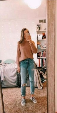 24 Fabulous Casual Outfit With Jean For Teen In Fall 23