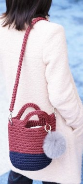 24 Free Crochet Bag Patterns You Can Make Fabulous Bags In 3 Days New 07