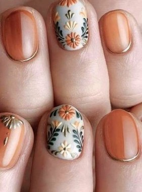 25 Cute And Easy Nail Art Designs No Tools 01