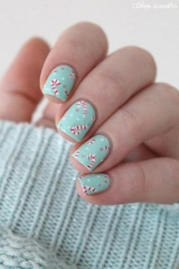 25 Cute And Easy Nail Art Designs No Tools 05