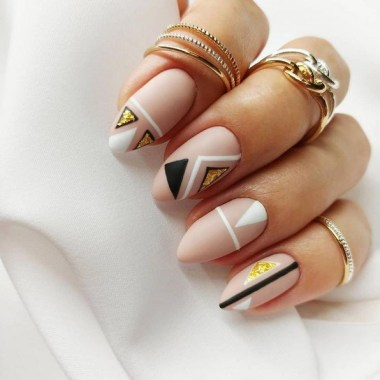 25 Cute And Easy Nail Art Designs No Tools 28