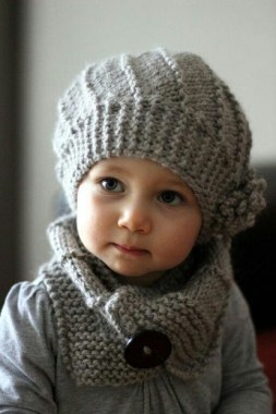 25 Free Winter Cute Baby Crochet Hat And Scarf Patterns New 22