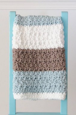 27 Free Fast And Easy Afghan Crochet Blanket Patterns For Beginners 10