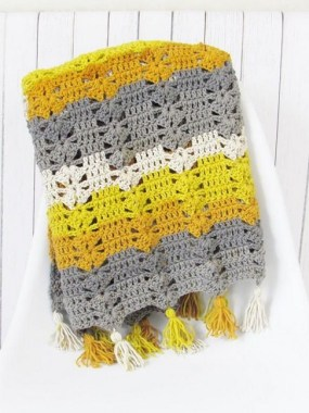 27 Free Fast And Easy Afghan Crochet Blanket Patterns For Beginners 16