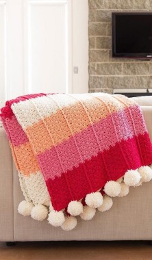 27 Free Fast And Easy Afghan Crochet Blanket Patterns For Beginners 21