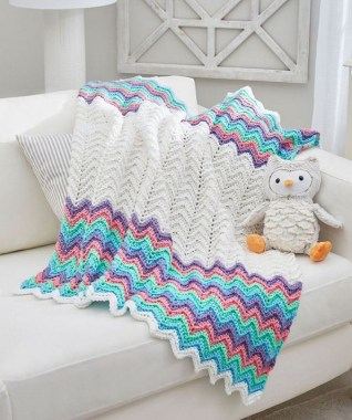 27 Free Fast And Easy Afghan Crochet Blanket Patterns For Beginners 27