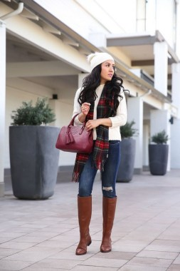 27 How To Look Professional With Warm Winter Outfits 26