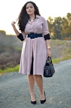 27 Winter Work Outfit Combinations For Plus Size Women 04