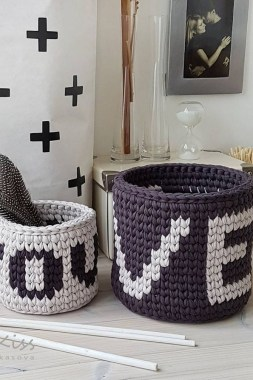 28 Amazing Crochet Baskets For Free Ideas 01