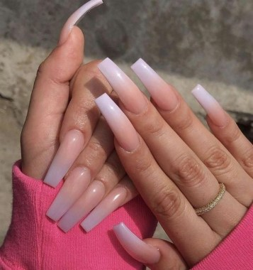 28 Get Gorgeous French Ombre Nails With These Tutorials And Ideas 22