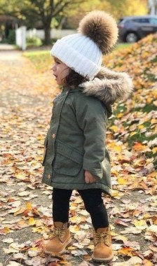 29 Winter Kid's Outfits For Any Events 11