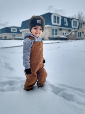 29 Winter Kid's Outfits For Any Events 15