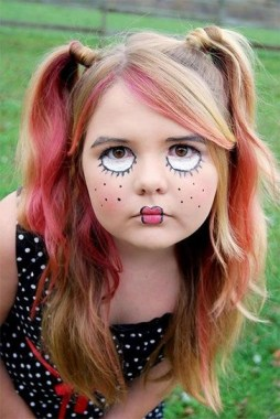 30 Best Halloween Makeup Ideas For Kids To Inspire 11