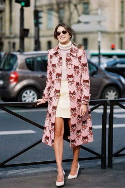 33 Fashionable Winter Coats From Paris Fashion Week 28