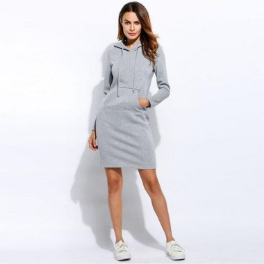 Can Curvy Women Wearing Sweatdress For Winter Here Are 30 Ideas That You Can Copy 08