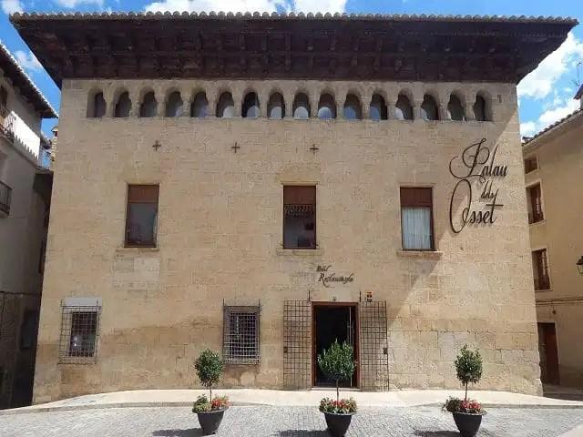 Palau dels Osset en Forcall