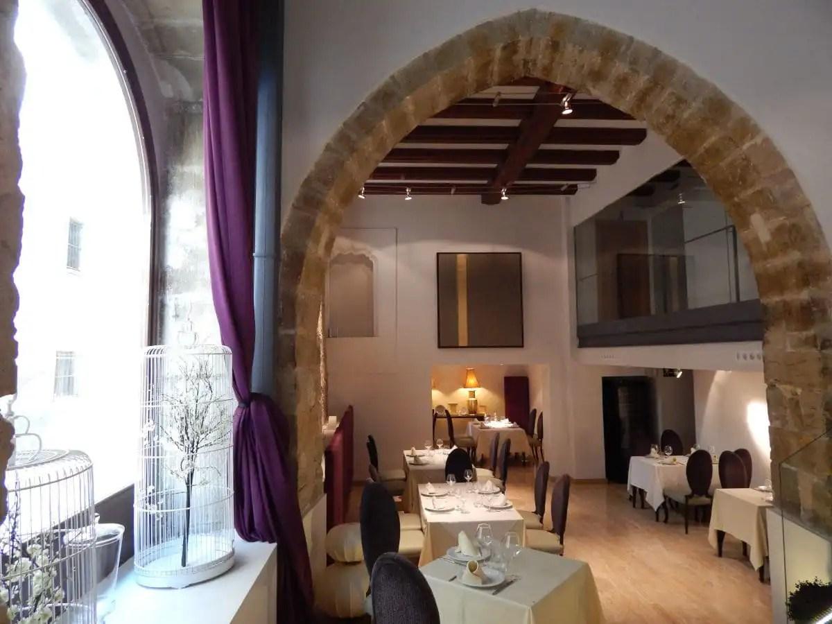 Restaurante Palau dels Osset en Forcall