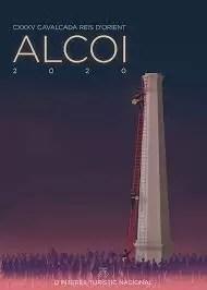 Cartel Cabalgata Reyes Magos Alcoy 2020