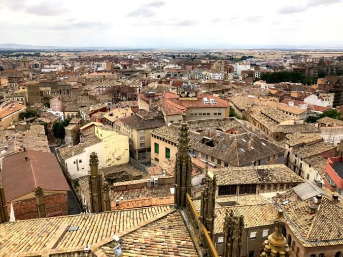 Huesca desde la Catedral