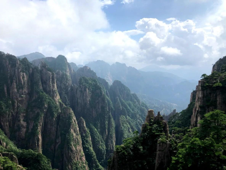 Rocas de la Montaña Amarilla, Huangshan en China