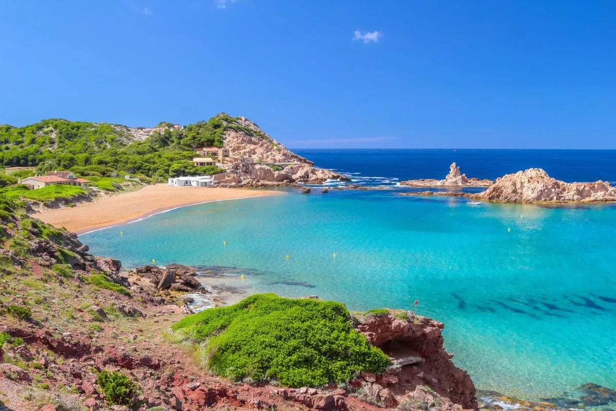 Que ver en Menorca, Cala Pregonda