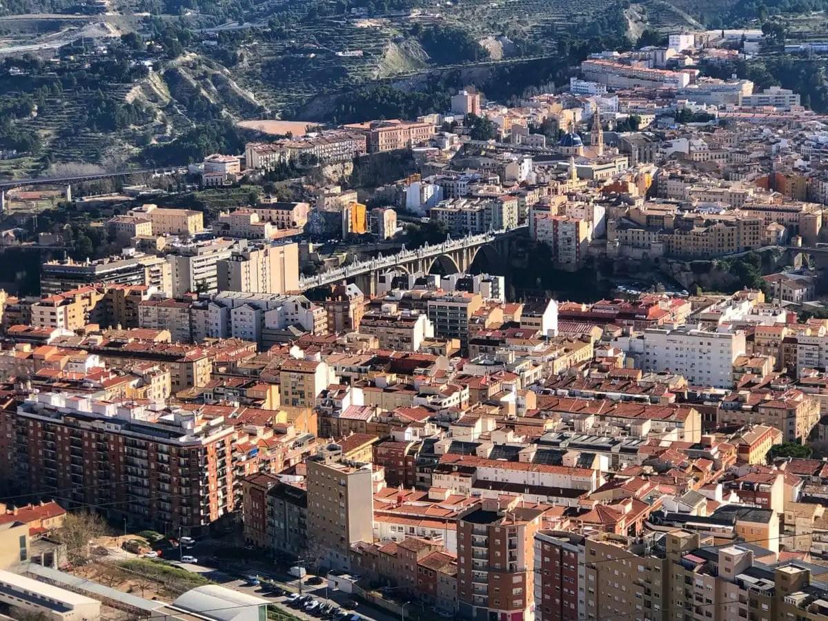 Los pueblos mas bonitos del interior de Alicante, Alcoy desde el Preventori