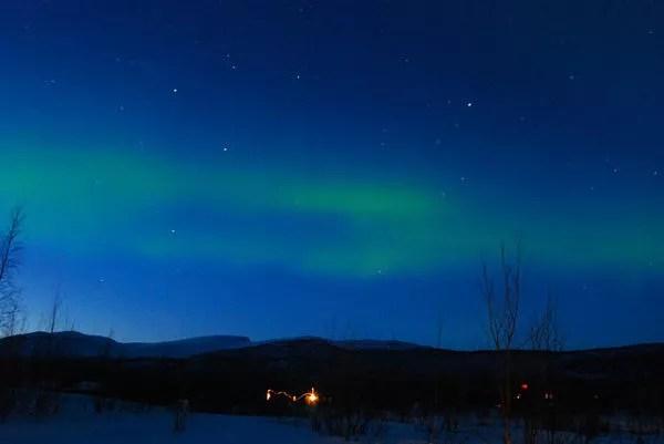Aurora Boreal en Laponia Sueca