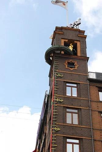 Barómetro del edificio de Unibamk