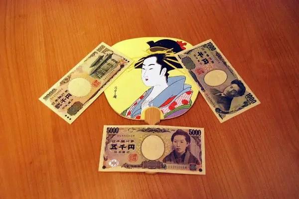 Billetes de yen japonés