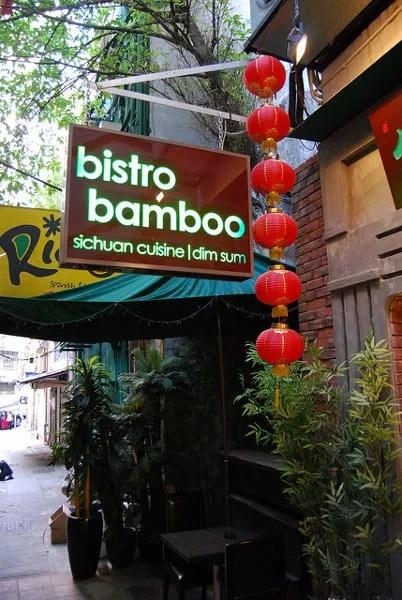 Bistro Bamboo en Hong Kong