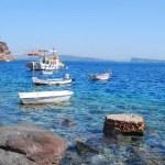 Fotos de Santorini, cala de Thirassia