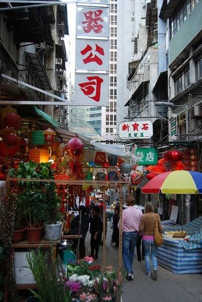 Callejuelas de Sheung Wan