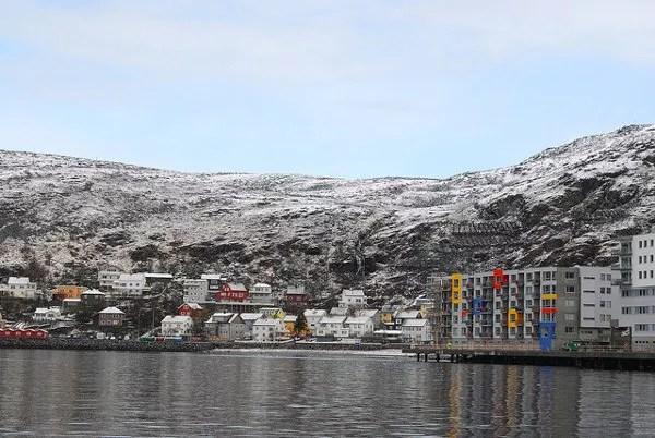 Casas-de-Hammerfest1 ▷ El mejor lugar de Noruega para ver la aurora boreal