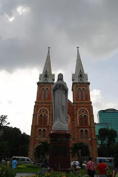 Catedral de Notre Dame en Ho Chi Minh City