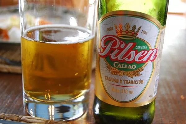 Cerveza Pilsen Callao