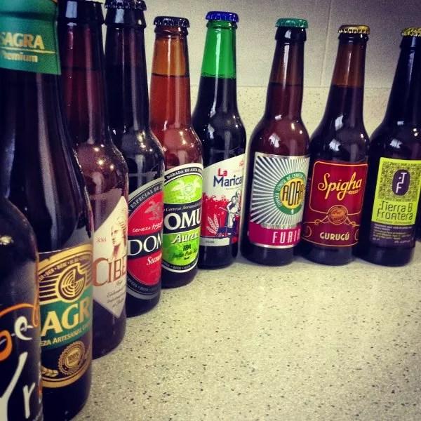 Cervezas artesanales de Tierra de Cerveza