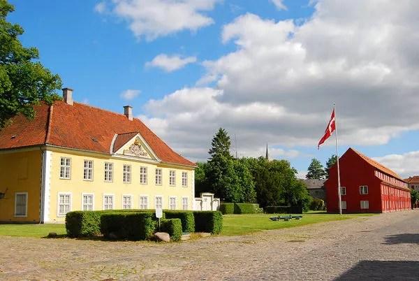Edificios de Kastellet en Copenhague