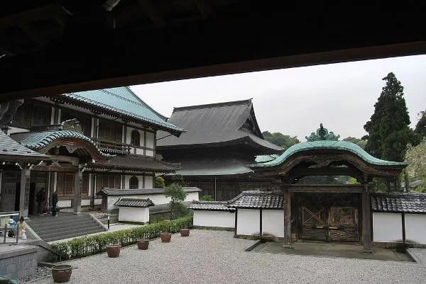Edificios del templo Kencho-ji de Kamakura